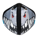 RZ M2 Nylon A10 Warthog mask shell on white background front view