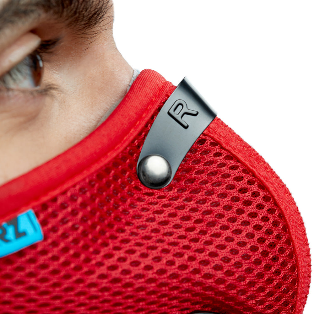Red RZ M2.5 Mesh adjustable metal nose clip