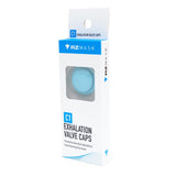 RZ exhalation valve cap teal in package