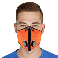 Safety Orange M2 RZ Mask - RZ Mask