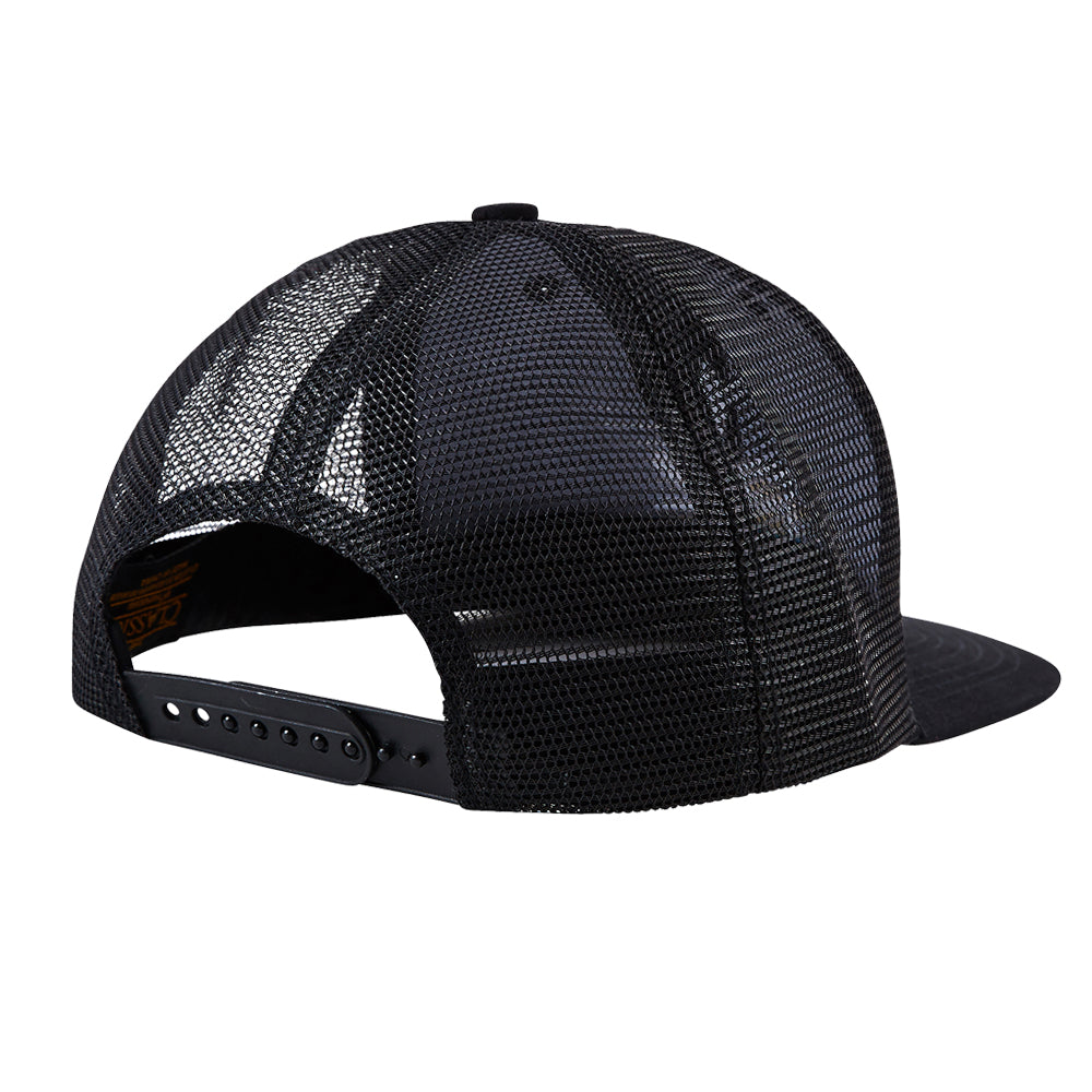 RZ Hat - Black Trucker