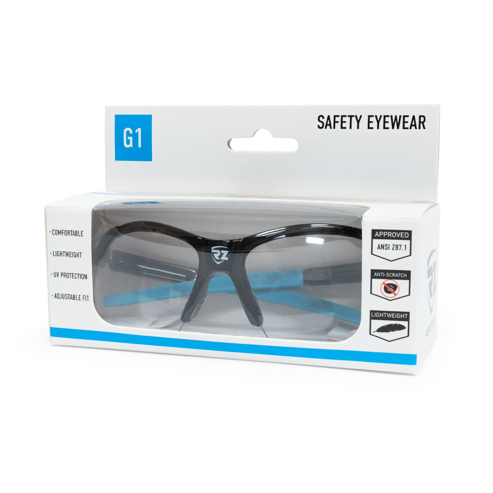 G1 Safety Glasses - Clear