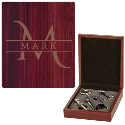 Personalized 3-Piece Wine Tool Gift Set