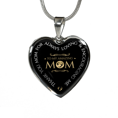 To My Amazing Mom - Premium Necklace & Bangle