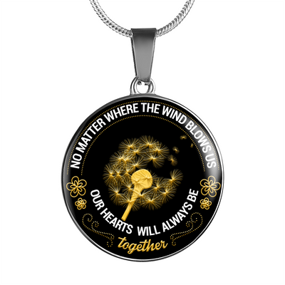No Matter Where The Wind Blows Us Necklace