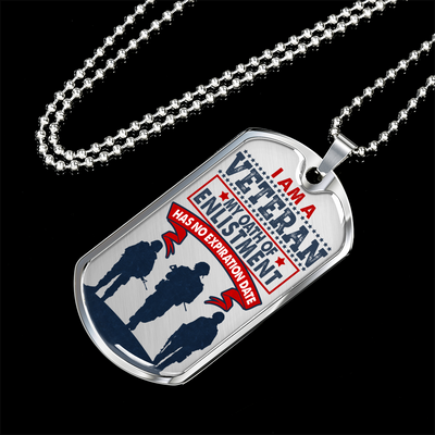 My Oath Of Enlistment Dog Tag