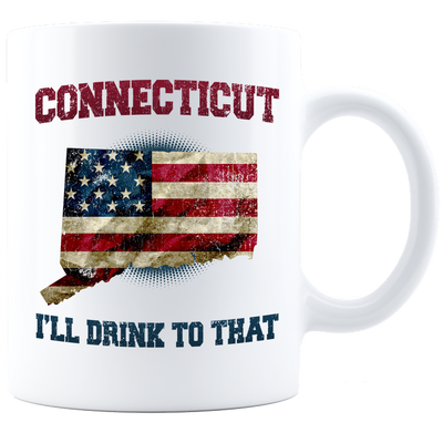 Connecticut - I'll Drink To That Mug