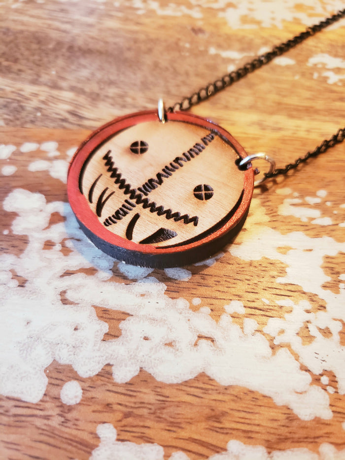 Wooden Sam Necklace