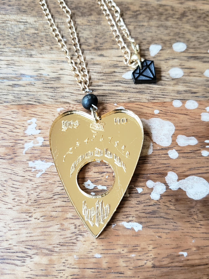 Golden Planchette Necklace