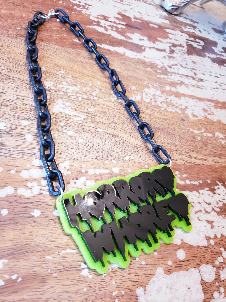 Horror Whore 🖤 Necklace