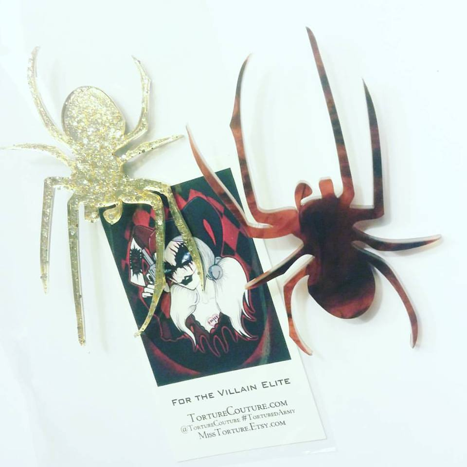 SPIDERELLA PIN