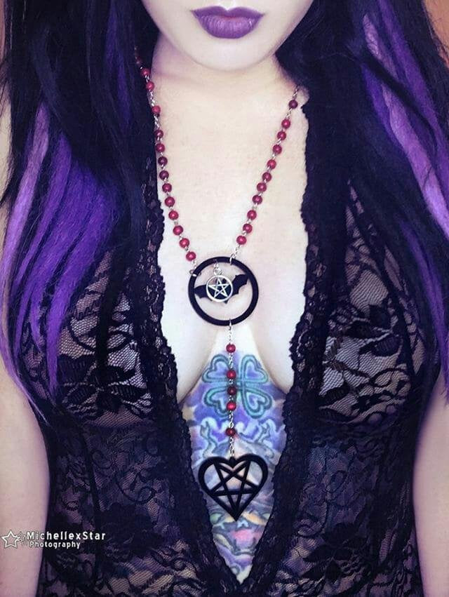 Heartagram Vamp Rosary