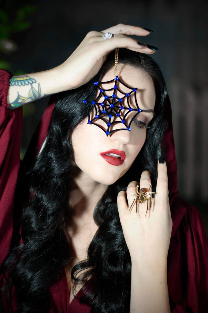 Spider Studded Ring