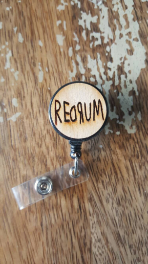 Redrum Badge Reel