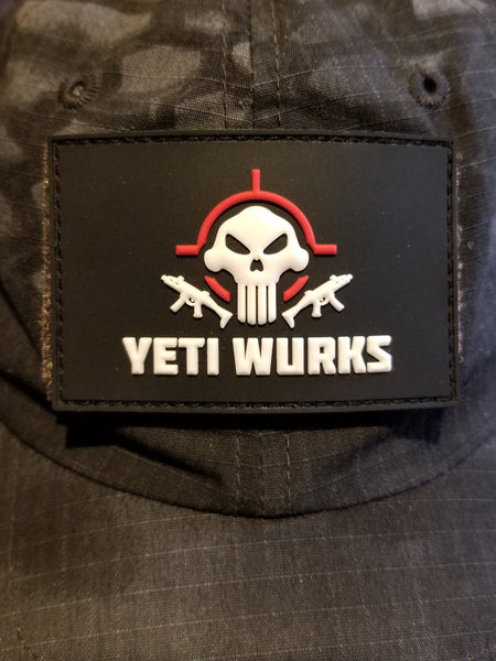 Yeti Wurks Flag Patch