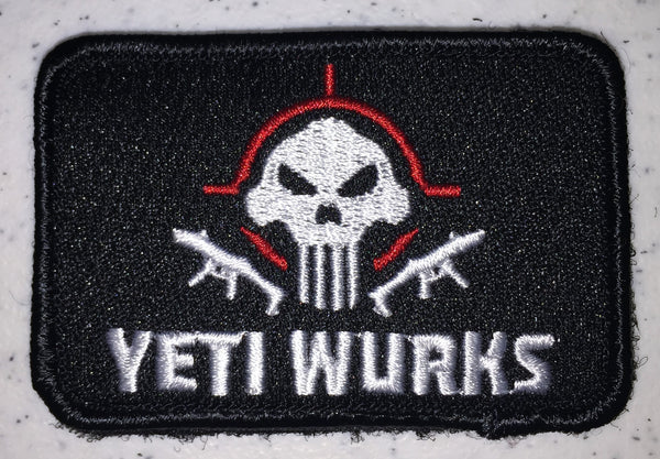 Embroidered Yeti Wurks Patch
