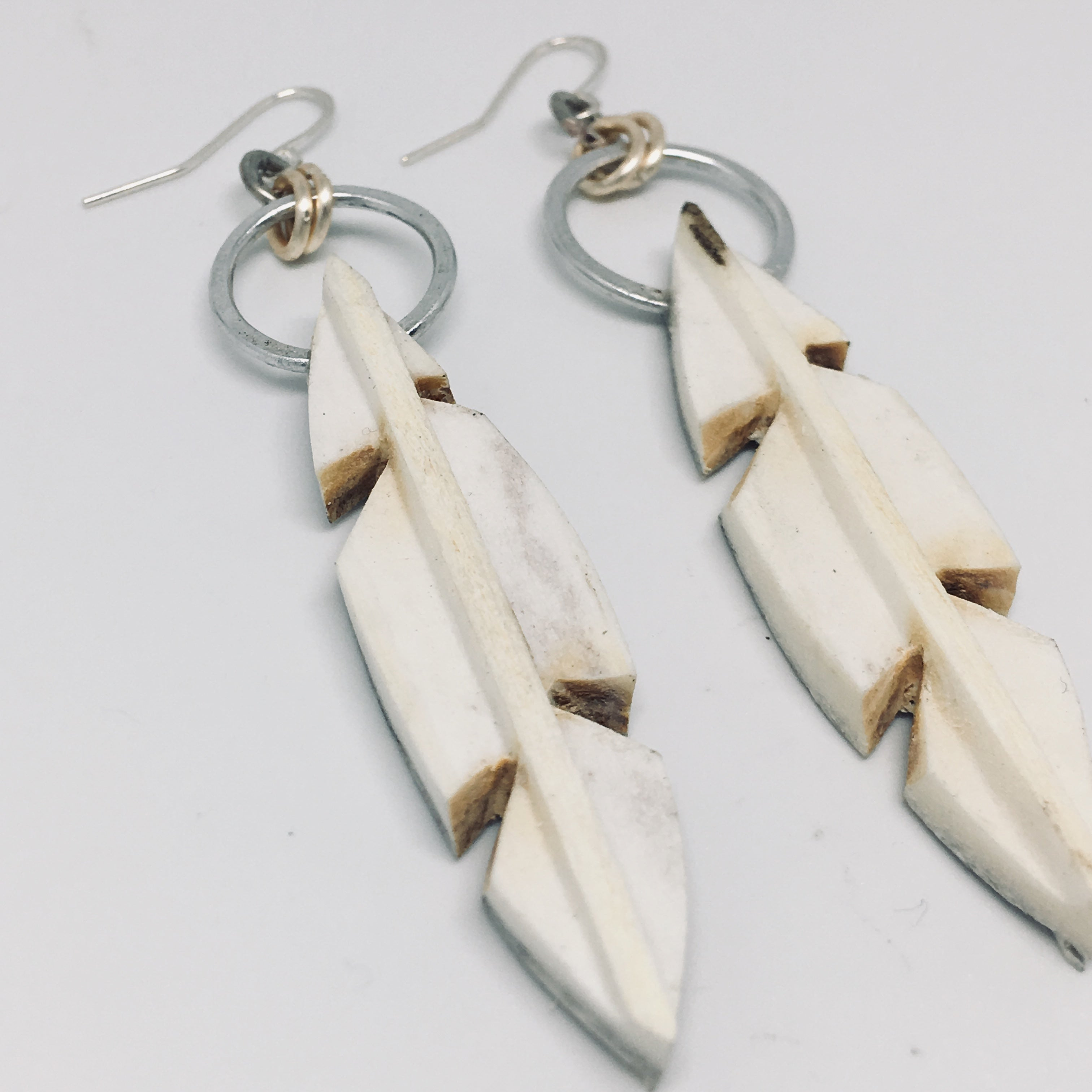 Flight Earrings Silver