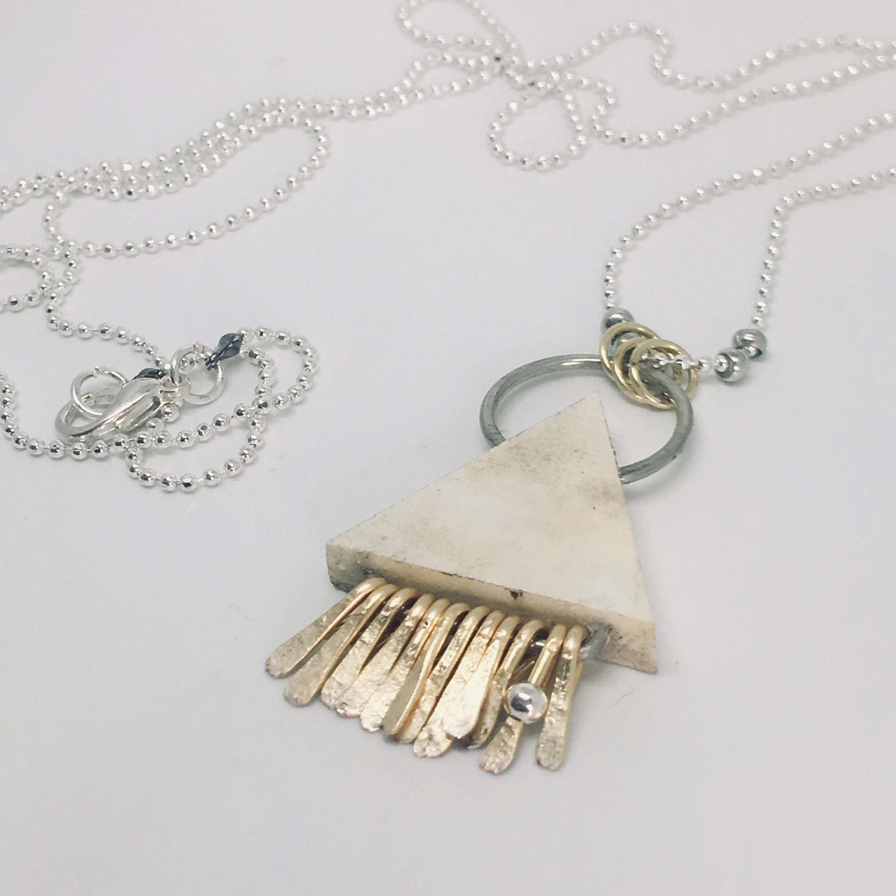 Tribe Necklace Silver