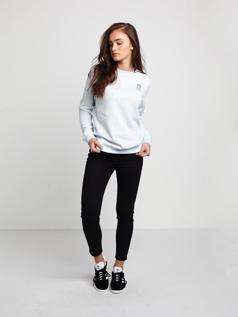 Rise Above Crewneck Fleece- Blue