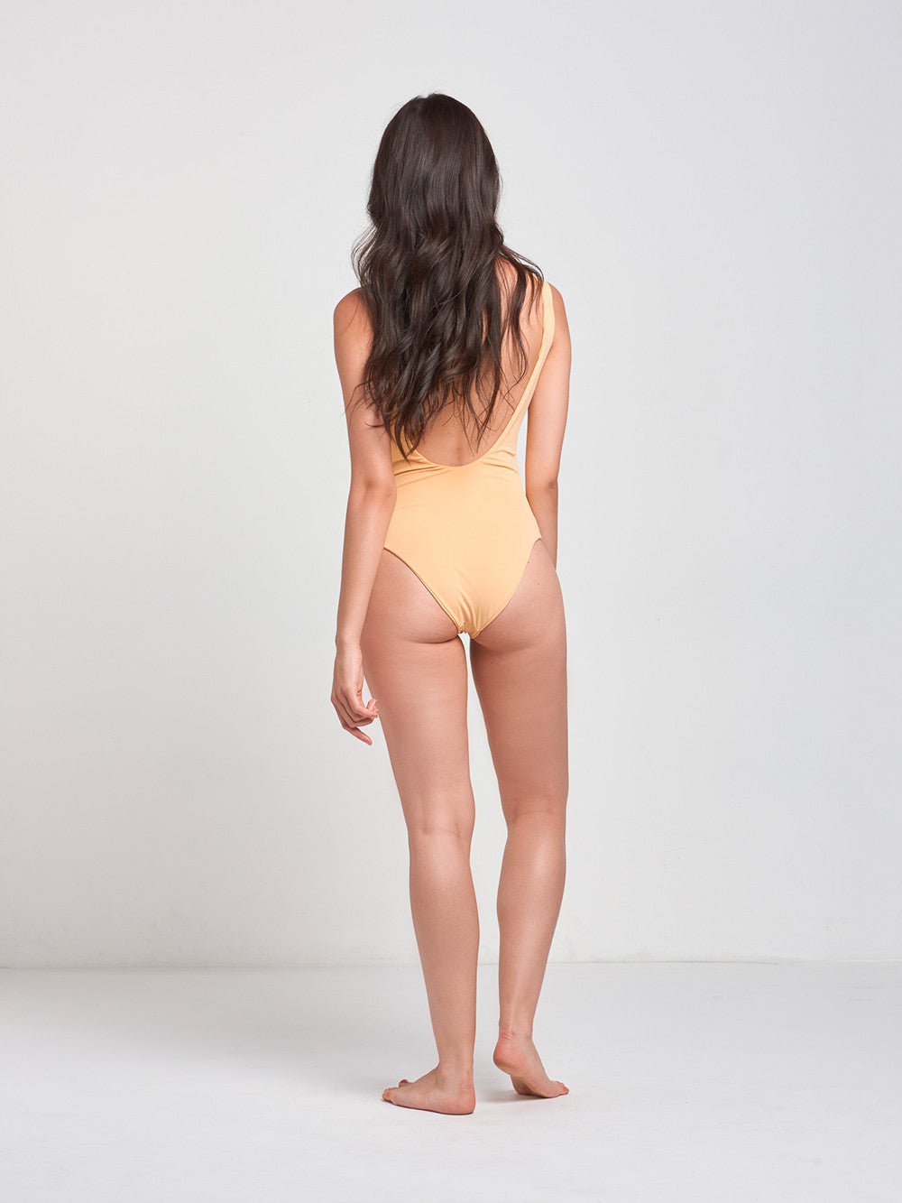 Sandy Lace Up One Piece- Golden Hazed