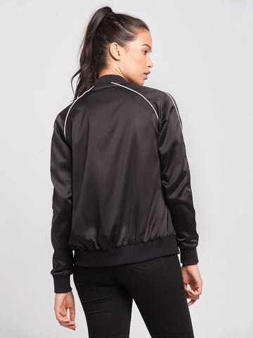 Girl Squad Jacket- Black
