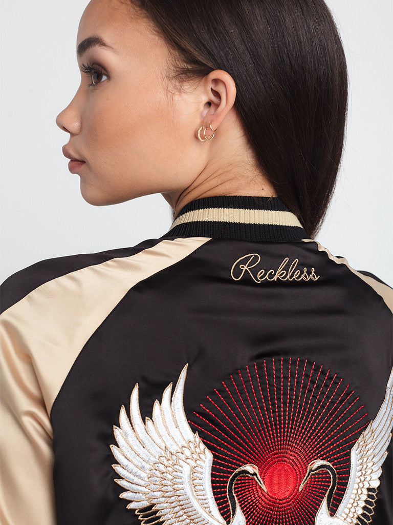 Golden Crane Souvenir Jacket
