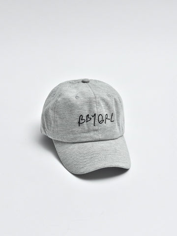 Bbygrl Dad Hat- Grey