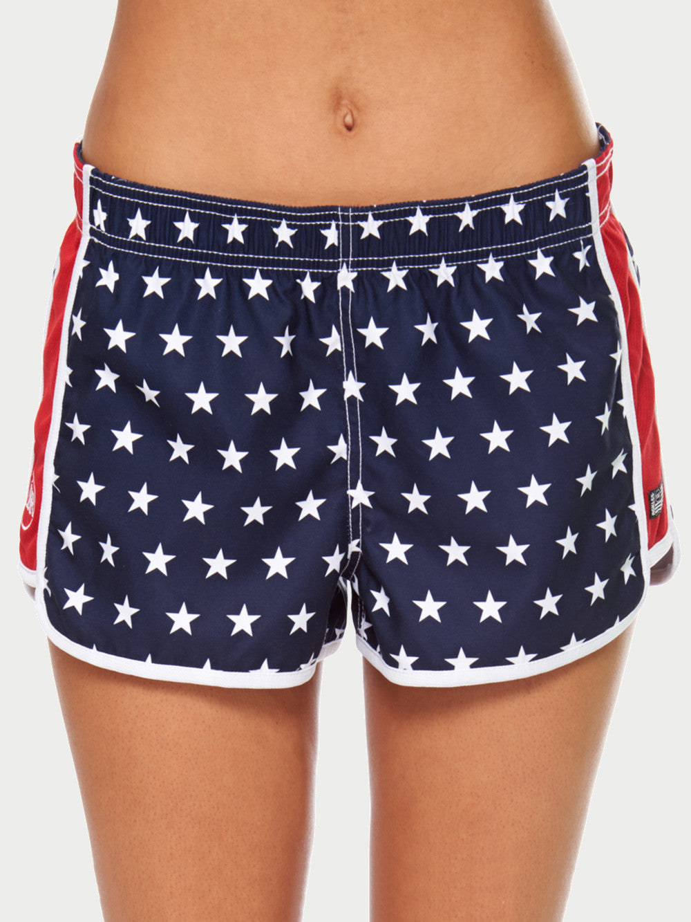 Superb Red White And Blue Shorts Reckless Girls Hairstyles For Women Draintrainus
