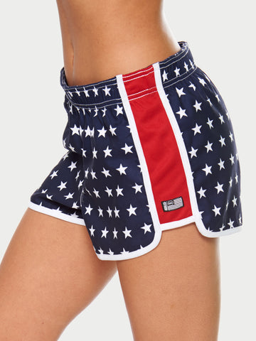 Red White And Blue Shorts