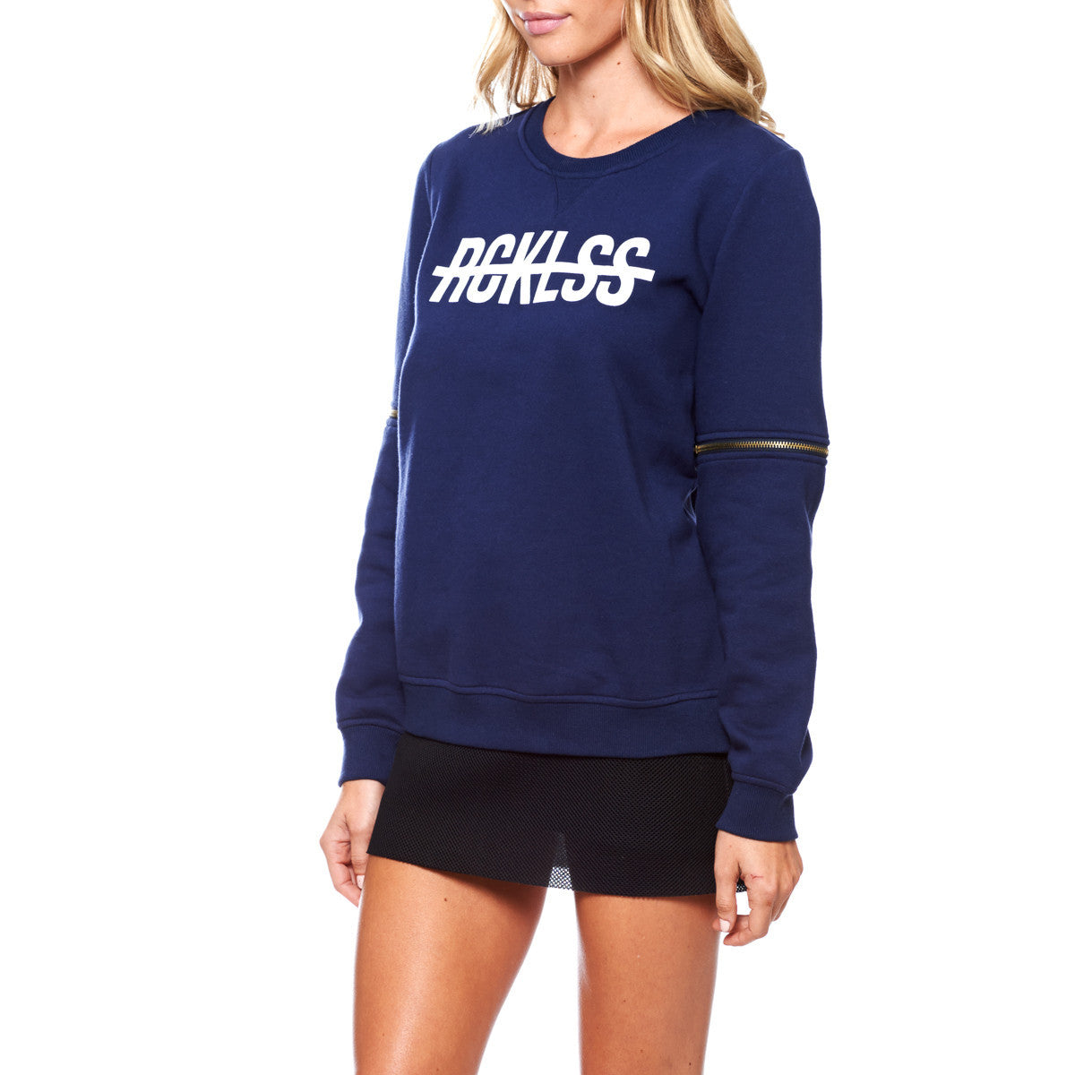 Come Thru, , Girls Crew Zippper Fleece, Young And Reckless, Young And Reckless - 3