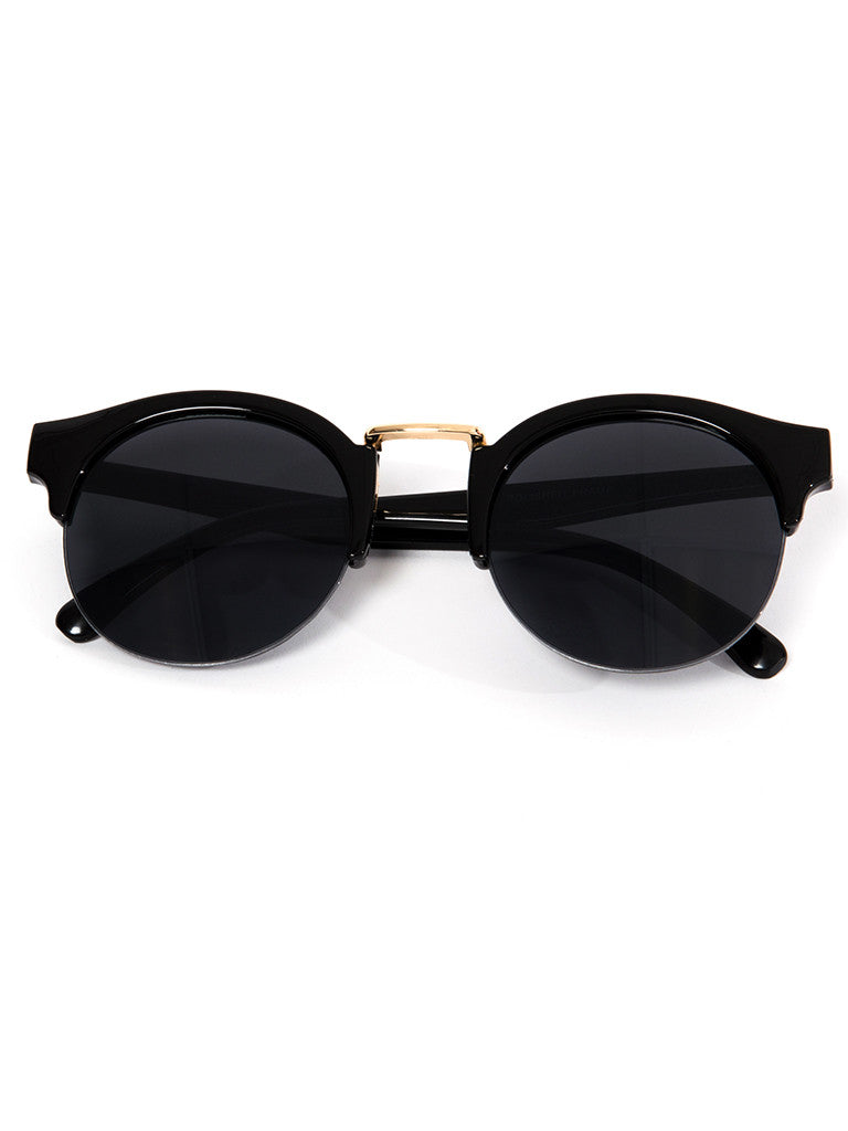 Maui Sunnies- Black/Gold