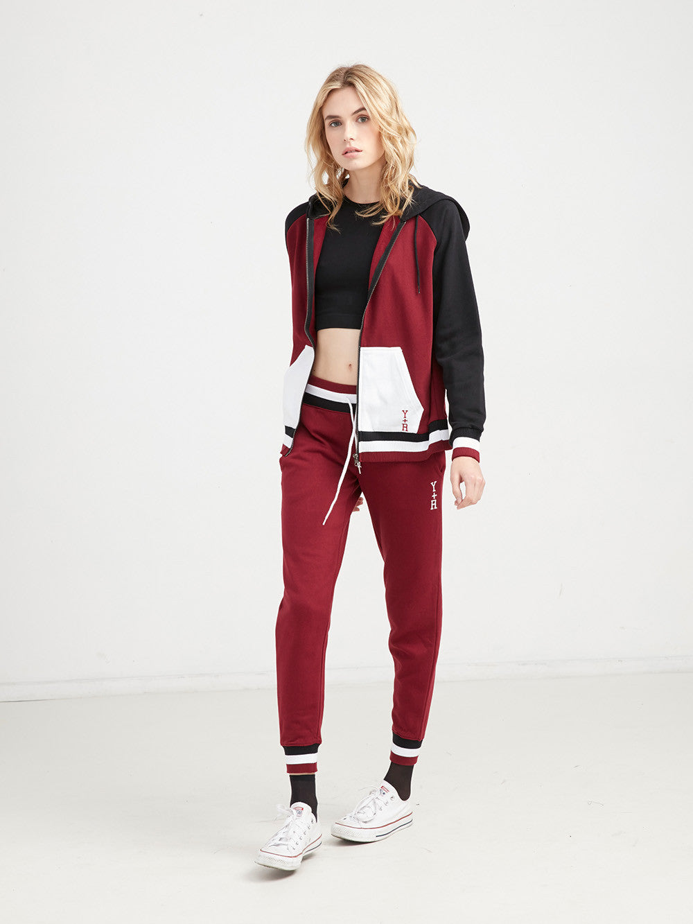 Varsity Stacked Sweatpants