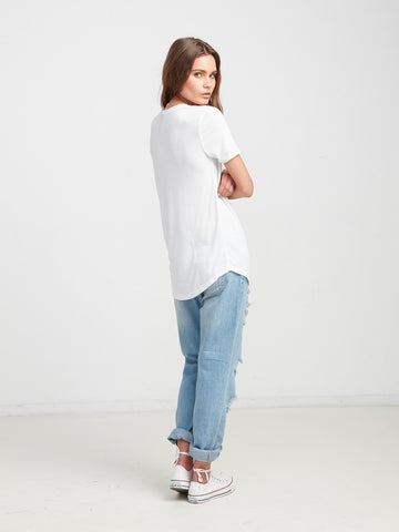 Ryder Scoop Neck Tee
