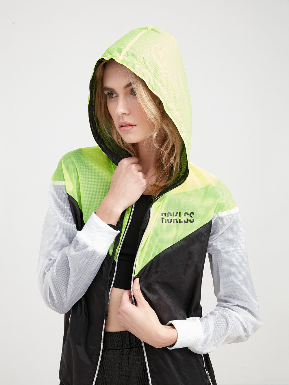 Sporty 3-Peat Windbreaker