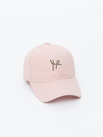 Y Plus R Dad Hat- Blush