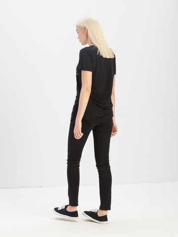 Y Plus R Scoop Neck Tee
