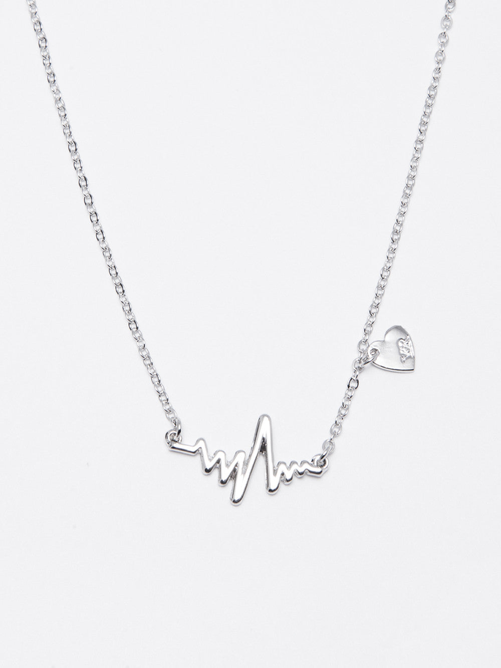Silver Pulse Necklace