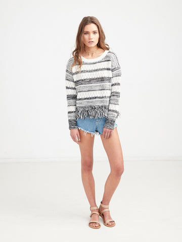 Cali Fringe Sweater