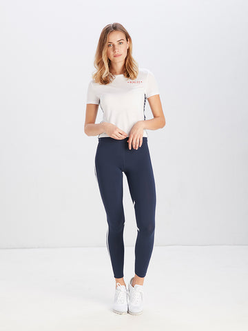 Simple Blvd Stars S/S Crop Tee