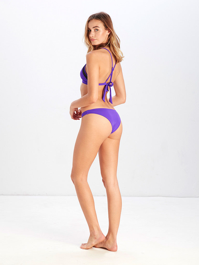 Veronique Brief Bikini Bottom - Purple