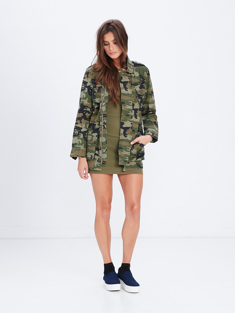 Rivalry Camo Jacket