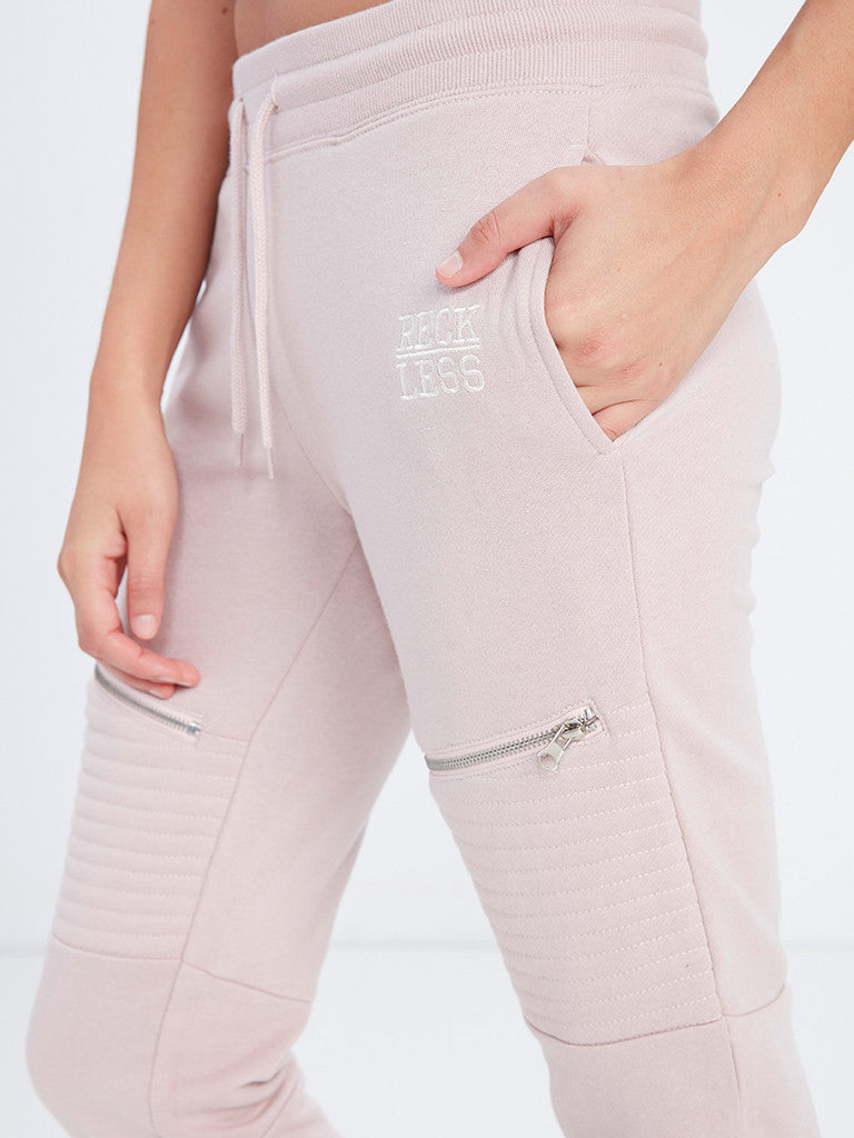 Double-Header Moto Sweats