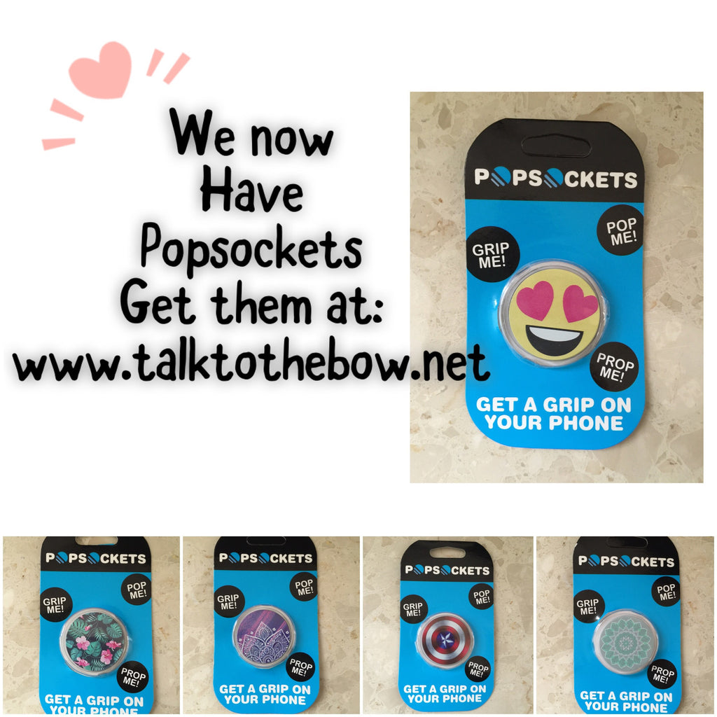 WE NOW CARRY POPSOCKETS !!!