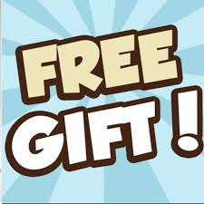 FREE GIFT GIVEN OUT NOW WITH ANY PURCHASE!