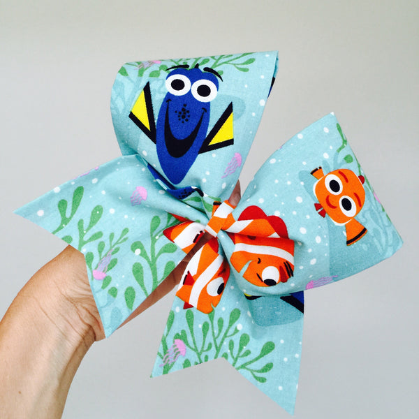 Disney Dory NEMO big cheer bow Dori