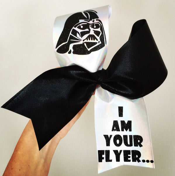 Darth Vader I Am Your Flyer Cheer Bow Spandex Star Wars
