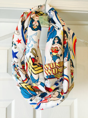 Wonder Woman super soft Infinity Scarf