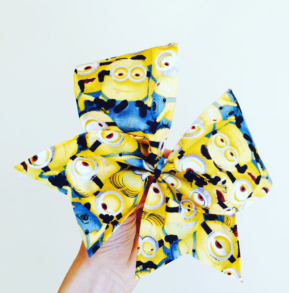 Minions Everywhere Minion Fabric Bow!