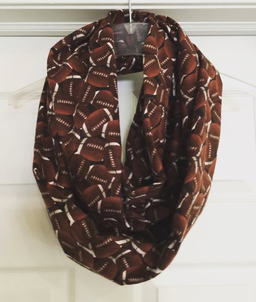 Football Fabric Infinity Scarf Soft!