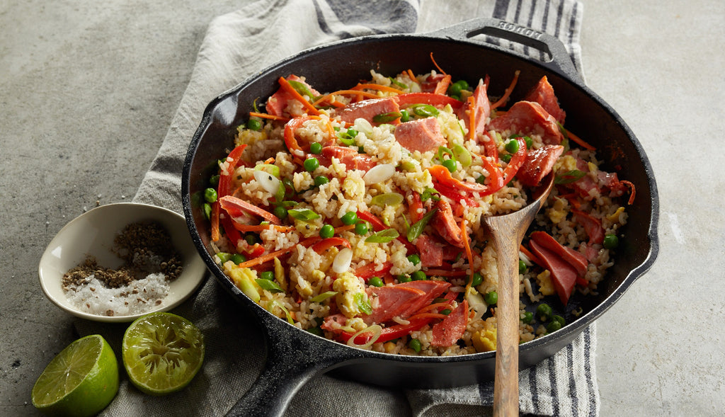 Alaska Salmon Fried Rice